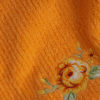 Индиго вышивка оранж зоом
