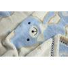 Плюшевый мишка голуб зоом